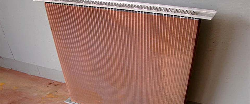 brown radiator