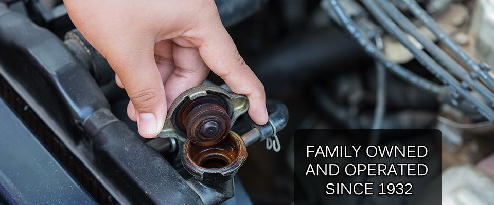 Family Owned and Operated Since 1932 - radiator cap